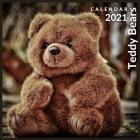 Teddy Bears Calendar 2021: 12 Month Calendar With Many Colorful Photos (Teddy Bear Calendar) Cover Image
