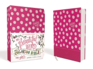 Niv, Beautiful Word Coloring Bible for Girls, Leathersoft Over Board, Pink: Hundreds of Verses to Color Cover Image