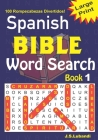 Spanish BIBLE Word Search Book 1 Cover Image