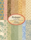 Endpaper Collection: 20 sheets of vintage endpapers for bookbinding and other paper crafting projects Cover Image