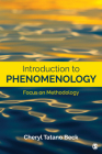 Introduction to Phenomenology: Focus on Methodology Cover Image