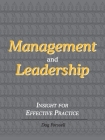 Management and Leadership: Insight for Effective Practice Cover Image