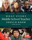 What Every Middle School Teacher Should Know Cover Image