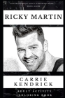 Ricky Martin Adult Activity Coloring Book Cover Image