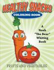 Healthy Snacks Coloring Book Cover Image