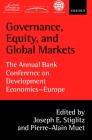 Governance, Equity, and Global Markets: The Annual Bank Conference on Development Economics - Europe Cover Image