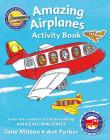 Amazing Machines Amazing Airplanes Activity book Cover Image