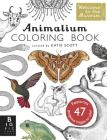 Animalium Coloring Book Cover Image