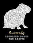 Animals Coloring Books For Adults: 50 Coloring Detailed Coloring Pages For Adults Stress Relieving Design 8.5