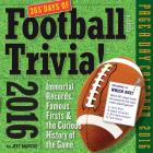 365 Days of Football Trivia! Page-A-Day Calendar 2016 Cover Image