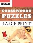 Crosswords Puzzles: Fungate Travel Crosswords Easy large print crossword puzzle books for seniors Classic Vol.15 Cover Image