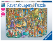 Midnight at the Library 1000 PC Puzzle Cover Image