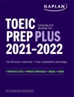 TOEIC Listening and Reading Test Prep Plus: Second Edition (Kaplan Test Prep) Cover Image