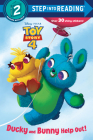 Ducky and Bunny Help Out! (Disney/Pixar Toy Story 4) (Step into Reading) Cover Image