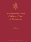 Ostraca from the Temple of Millions of Years of Thutmose III (Culture and History of the Ancient Near East #120) Cover Image