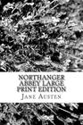 Northanger Abbey Large Print Edition Cover Image
