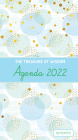 The Treasure of Wisdom - 2022 Pocket Planner - Bubbles and Gold - Blue: An 18 Month Planner with Inspirational Bible Verses Cover Image