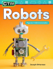 Ctim: Robots: Figuras Tridimensionales (Stem: Robots: 3-D Shapes) (Spanish Version) (Grade 1) (Mathematics Readers) Cover Image