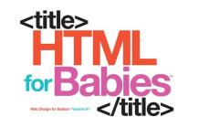 HTML for Babies Cover Image