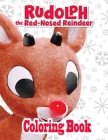 Rudolph Coloring Book Cover Image