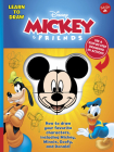 Learn to Draw Disney Mickey & Friends: How to draw your favorite characters, including Mickey, Minnie, Goofy, and Donald! (Licensed Learn to Draw) Cover Image