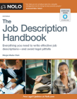 The Job Description Handbook Cover Image
