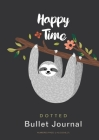 Happy Time - Dotted Bullet Journal: Medium A5 - 5.83X8.27 Cover Image