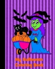 My Halloween Coloring Book: Coloring Book For Kids Ages 4-8 Cover Image