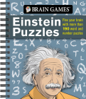 Brain Games - Einstein Puzzles: Flex Your Brain with More Than 190 Word and Number Puzzles Cover Image