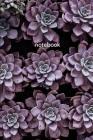 notebook: purple succulent Cover Image