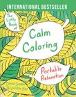 The Little Book of Calm Coloring: Portable Relaxation Cover Image