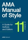 AMA Manual of Style, 11th Edition Cover Image
