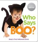 Who Says Boo?: Baby's First Halloween Book (Highlights Baby Mirror Board Books) Cover Image