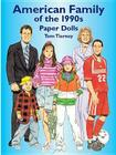 American Family of the 1990s Paper Dolls Cover Image