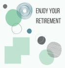 Happy Retirement Guest Book with lined pages (hardback) Cover Image