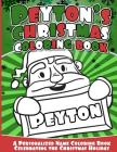 Peyton's Christmas Coloring Book: A Personalized Name Coloring Book Celebrating the Christmas Holiday Cover Image