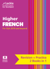 Complete Revision and Practice SQA Exams – Higher French Complete Revision and Practice: Revise Curriculum for Excellence SQA Exams Cover Image