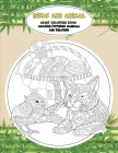 Adult Coloring Book Birds and Animal - Amazing Patterns Mandala and Relaxing Cover Image
