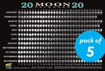 2020 Moon Calendar Card (5 pack): Lunar Phases, Eclipses, and More! Cover Image