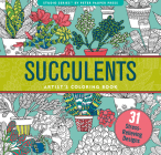 Succulents Adult Coloring Book (31 Stress-Relieving Designs) Cover Image