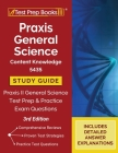 Praxis General Science Content Knowledge 5435 Study Guide: Praxis II General Science Test Prep and Practice Exam Questions [3rd Edition] Cover Image