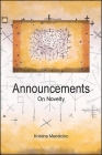 Announcements: On Novelty (Suny Series) Cover Image