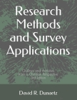Research Methods and Survey Applications: Outlines and Activities from a Christian Perspective, 3rd Edition Cover Image