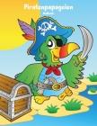 Piratenpapageien-Malbuch 1 Cover Image