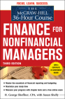 The McGraw-Hill 36-Hour Course: Finance for Non-Financial Managers 3/E (McGraw-Hill 36-Hour Courses) Cover Image