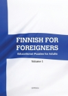 Finnish For Foreigners: Educational Puzzles for Adults Volume 1 Cover Image