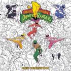 Mighty Morphin Power Rangers Adult Coloring Book Cover Image