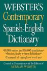 Webster's Contemporary Spanish-English Dictionary Cover Image