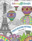 Coloring Has Benefits: Stress Relieving Patterns Volume 1 Cover Image