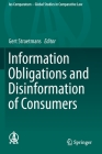 Information Obligations and Disinformation of Consumers (Ius Comparatum - Global Studies in Comparative Law #33) Cover Image